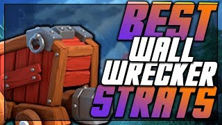 TOP Wall Wrecker Strategies at TH10   Wrecker Hogs, Lalo, and Bowitch   Clash of Clans