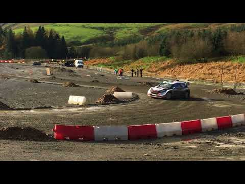 Elfyn Evans Sweet Lamb Jump WRC 2017
