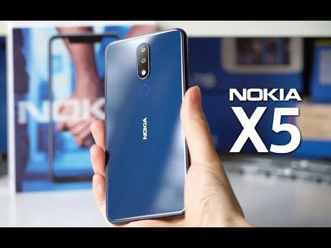 Nokia X5 (5.1 Plus) Unboxing and Hands-on (by @baidunokibar)
