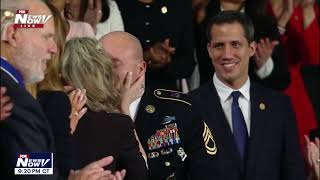 SOLIDER SURPRISE: Trump gives family their DAD back from deployment!