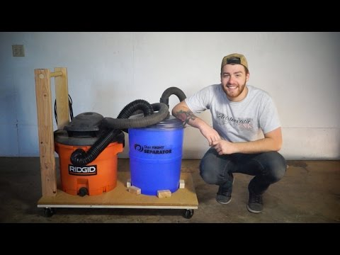 DIY Mobile Dust Collection | Modern Builds | EP. 25