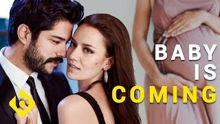 Fahriye Evcen is PREGNANT Exclusive Clips with Burak Ozcivit
