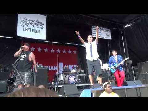 Less than Jake - Help Save The Youth Of America From Exploding Live at Vans Warped Tour 2016