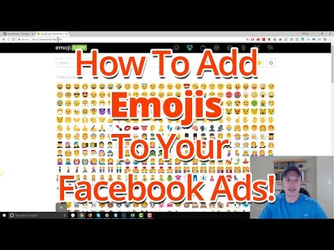 How To Add Emojis To Your Facebook Ads And Posts When On Desktop