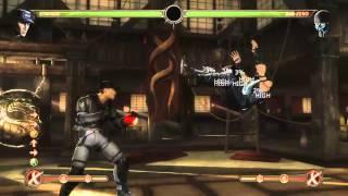Mortal Kombat 9 - Stryker обучение + комбо