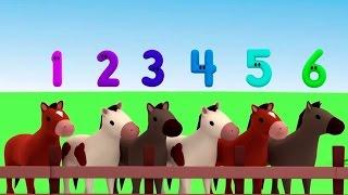 """Развивающий мультик """"Считаем с Полой"""" - цифры для детей. Учимся считать до 9. Разбитые яйца"""