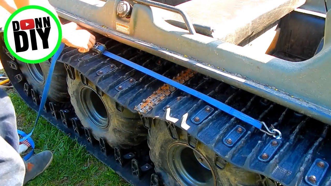 How The Hell Should I Install The ARGO Amphibious 8x8 ATV Rubber Tracks?