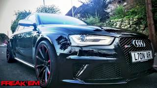 The LOUDEST Audi RS4 Ever?!?