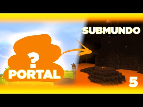 Construi E DECOREI Nosso Portal Para O Submundo |EP 5 GUIA SOBREVIVÊNCIA