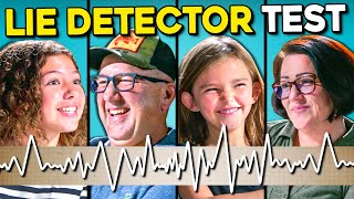 Kids Give Their Parents A Lie Detector Test (Is Santa Real?)