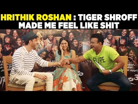 Hrithik Roshan : 'Tiger Shroff made me feel like shit!' Super30