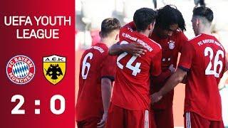 FC Bayern - AEK Athen | Full Game | UEFA Youth League 2018/19 - Nur D.A.CH