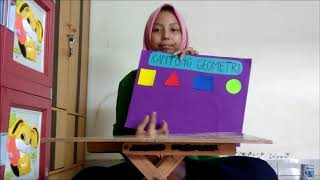 Membuat media pembelajaran Matematika Geometri