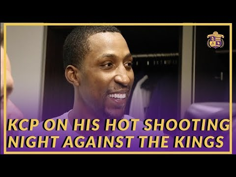Lakers Post Game: KCP Talks About Having the Green Light to Shoot In Game Against Kings
