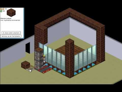 Habbo tutorial basic house old stacking youtube for Classic house tutorial