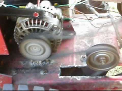 Atv Made From Old Lawn Mower Youtube