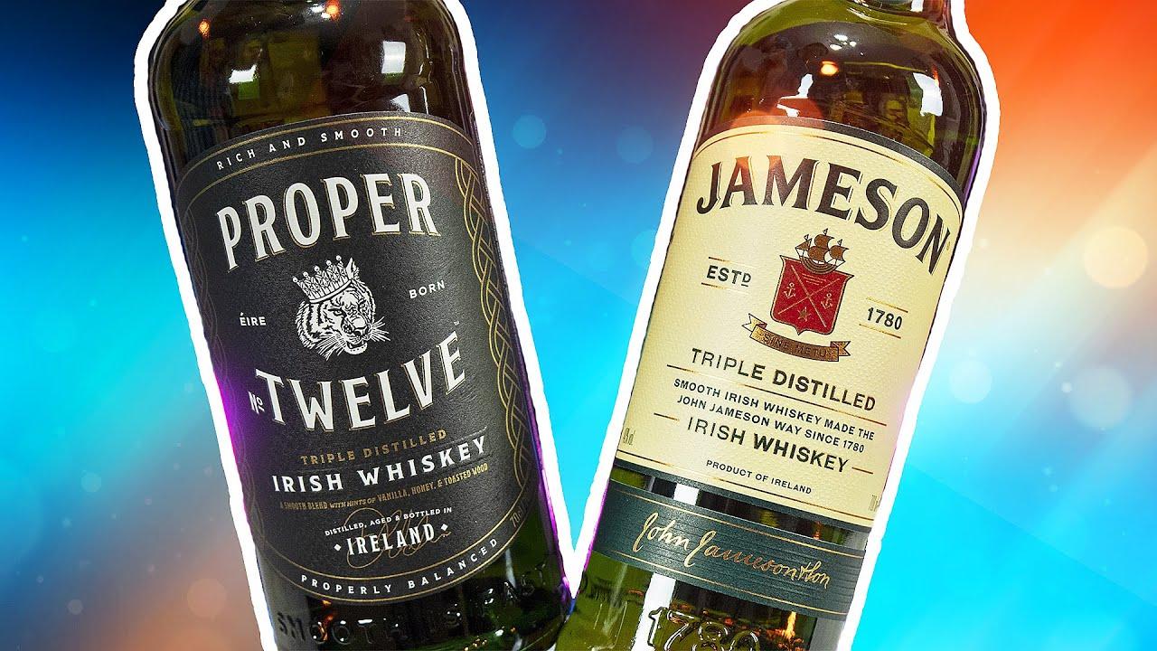 PROPER TWELVE Обзор виски Конора Макгрегора, Сравнение Proper Twelve vs Jameson