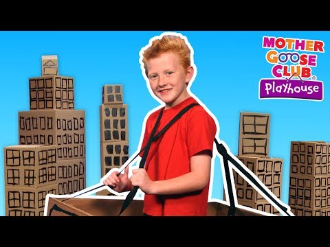 A Trip to Town | Learn Real Life Jobs | Mother Goose Club Playhouse Kids Video