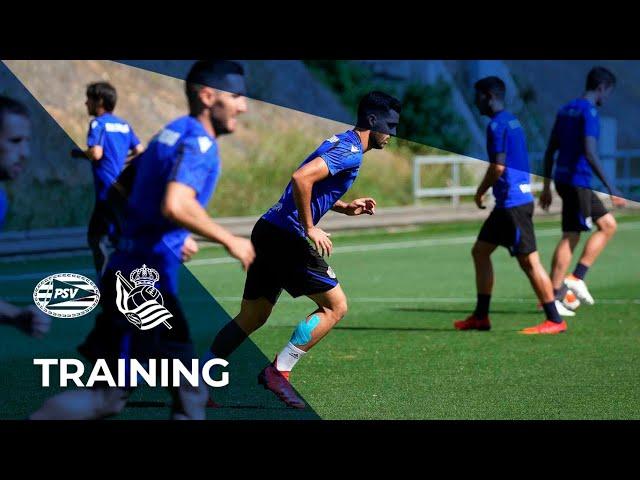 ENTRENAMIENTO | Con ganas de estrenarse en la Europa League | Real Sociedad