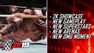 WWE 2K19 First Look - 2K Showcase, 5 Minutes Of Gameplay, New OMG Moment & More! (WWE 2K19 News)
