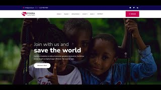 Poora - Fundraising & Charity WordPress Theme | NGO Non Profit Website Theme