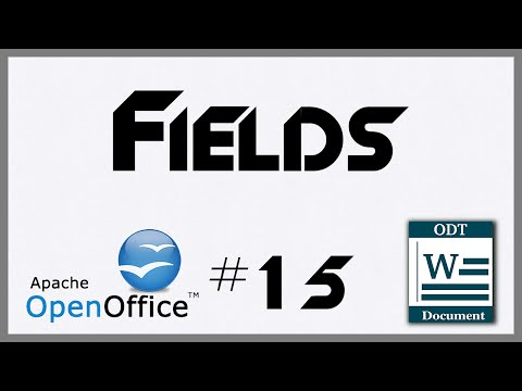 Fields - 15 - Introduction To OpenOffice Writer
