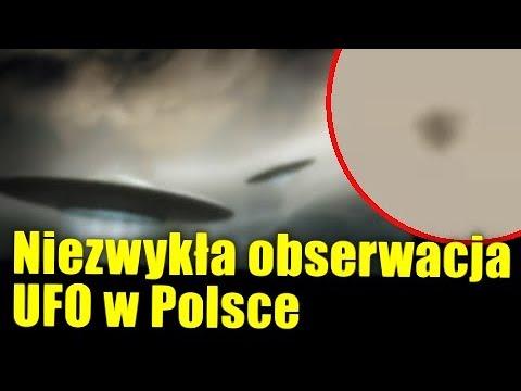 Obserwacja UFO w Polsce! Widziano tajemniczy stacjonarny obiekt