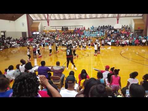 O.N.E finest girl dance team. Omaha NE presents. Black lives matter. First place. Wassup wassup