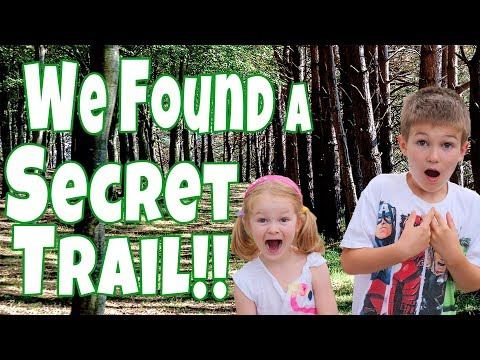 We Explored a Secret Trail!!