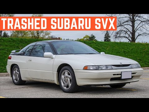 $1,000 Is Way Too Much For This SUBARU SVX *Should I Buy It ANYWAY?*