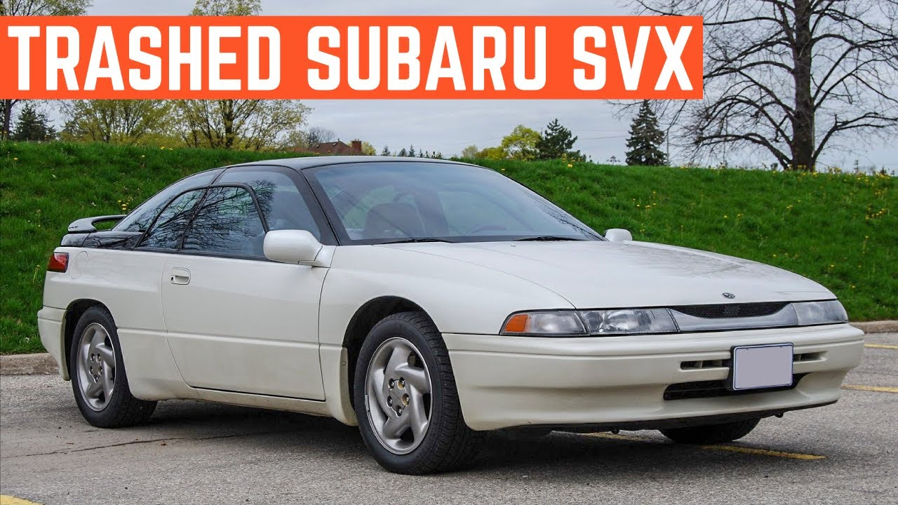1000 Is Way Too Much For This Subaru Svx Should I Buy It Anyway