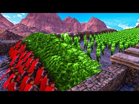 Thumbnail: WALL MADE OUT OF 1,000,000 DEAD ZOMBIES! (Ultimate Epic Battle Simulator)
