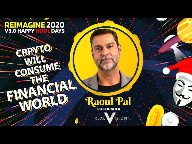 Raoul Pal - Real Vision - Looking At The Macro Picture
