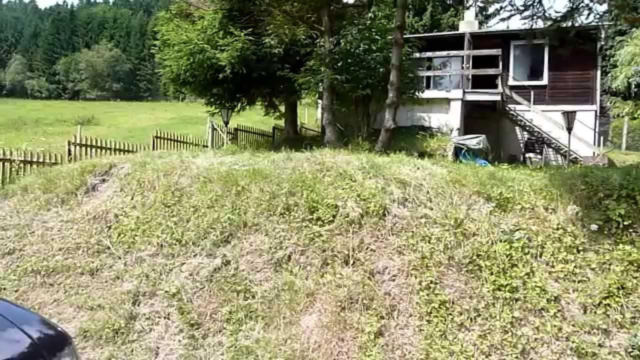 Ferienhaus mit Bachlauf am Waldesrand