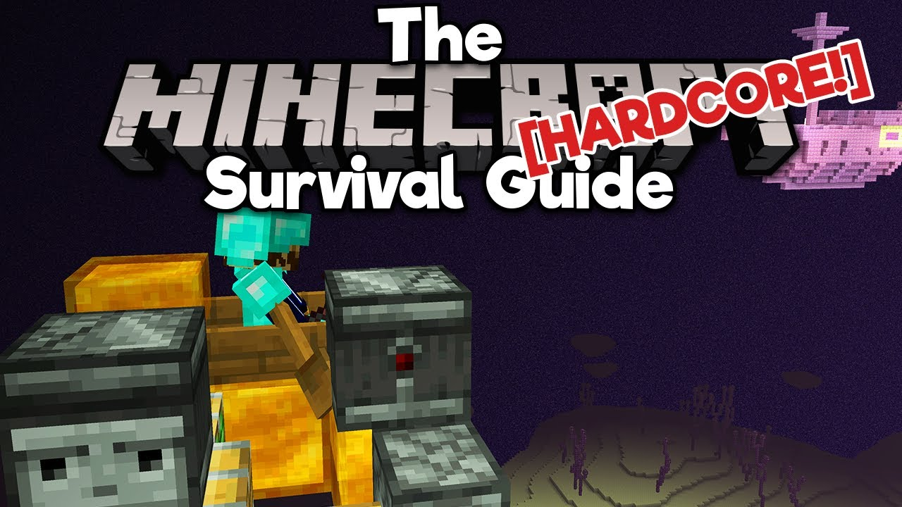 Crossing The Void On A Flying Machine! ▫ The Hardcore Survival Guide [Ep.16] ▫ Minecraft 1.17