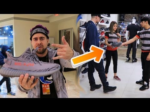 1a5578bd0d659 YEEZY BAIT PRANK PART 1 IN THE MALL 😂 - YouTube
