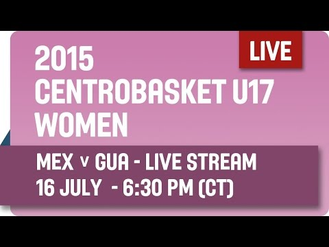 Mexico v Guatemala - Group A - 2015 Centrobasket U17 Women's