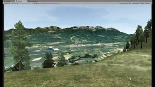 Paragliding Physics Development - 3D Simulator Paraflysim