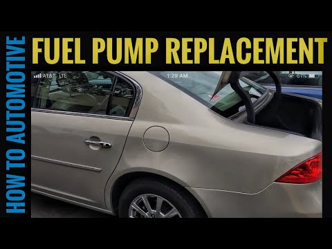 How to Replace the Fuel Pump on a 2009 Buick Lucerne — How