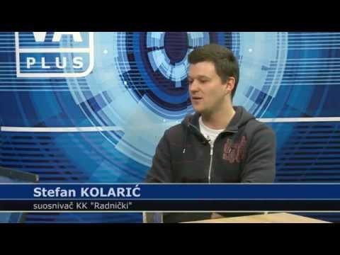 """KK """"Radnički"""" - Stefan Kolarić"""