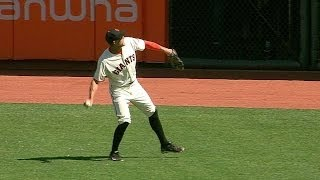 ATL@SF: Broadcast finds Pence