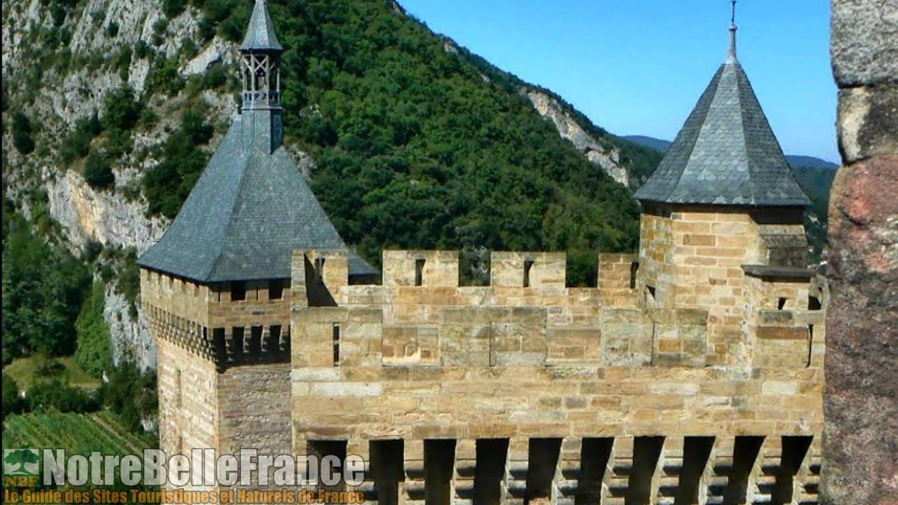 Le ch teau et la ville de foix en chateau de foix hauts for Piscine foix