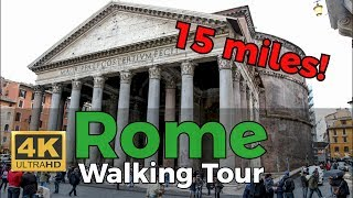 Best Walking Tour of Rome! [4K]