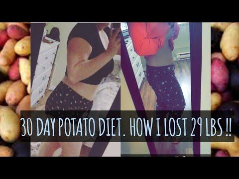 HOW I LOST 29 LBS! POTATO DIET ��