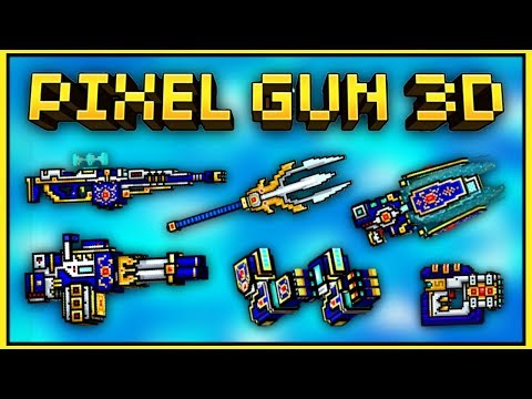 USING ALL MYTHICAL CLAN WEAPONS!!   Pixel Gun 3D (Gameplay)