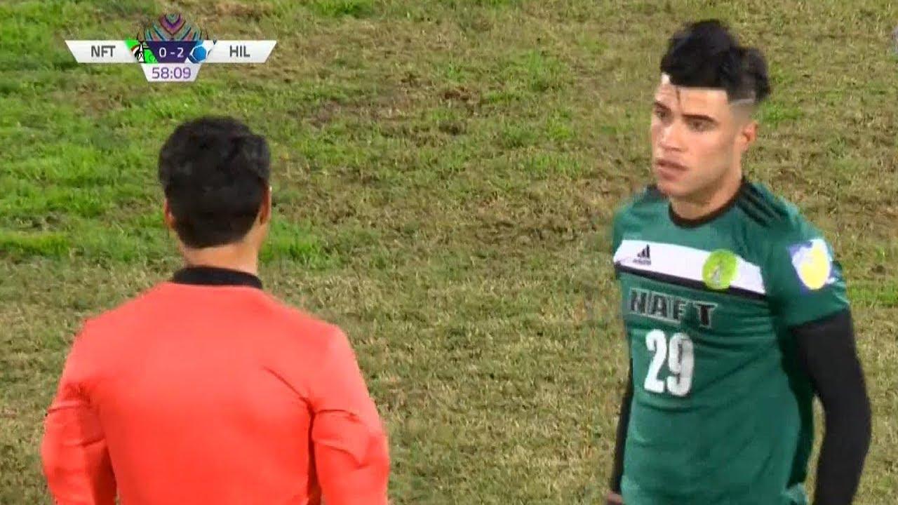 المعلق عامر عبدالله للاعب العراقي محمد داود: خف علينا يا مارادونا