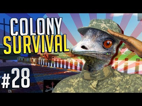 EMU WARS | Colony Survival #28