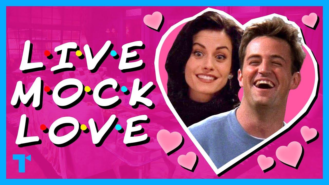 Friends' Monica and Chandler - Romance Through Ridicule