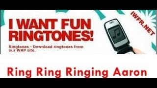 ♪ Personalized Name Ringtones ♫ - Get them for Free