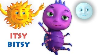Itsy Bitsy Spider | Incy Wincy Spider | Videogyan 3D Rhymes | Nursery Rhymes For Children